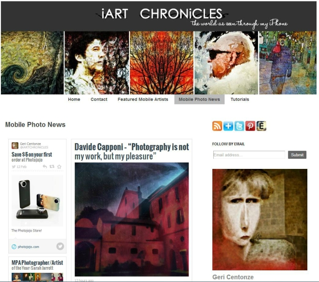 iArt chronicles feature