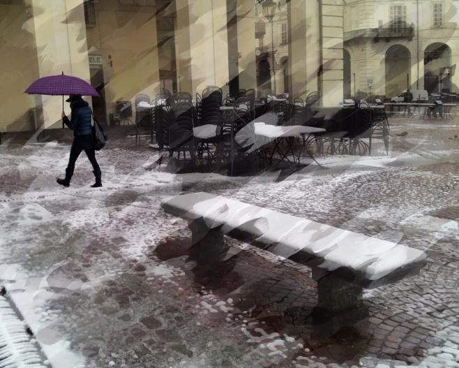 Snow shuffle