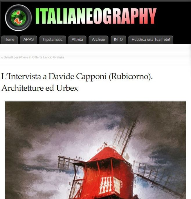 italianeography interview